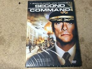 NEW-SEALED-DVD-Film-SECOND-IN-COMMAND-JEAN-CLAUDE-VAN-DAMME