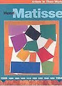 Henri-Matisse-Artistes-dans-Leur-Monde-Tout-Neuf
