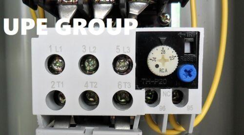 Magnetic  starter 20 hp 3 PHASE 460v for air compressor electric motor