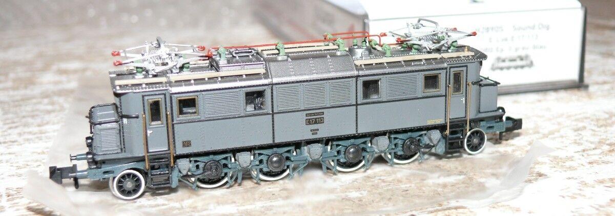 Hs Hobbytrain h2890s e Lok e 17 113 DRG sonido digital pista n