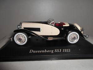 Voiture 1//43 altaya IXO Classic DUESENBERG SSJ 1933