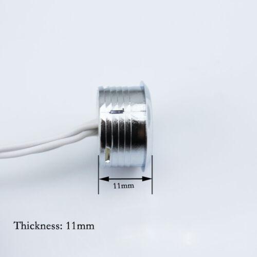 Mini DC12V Touch Dimmbare LED Lampen Streifen Schrank Sensor Schalter W Blue L