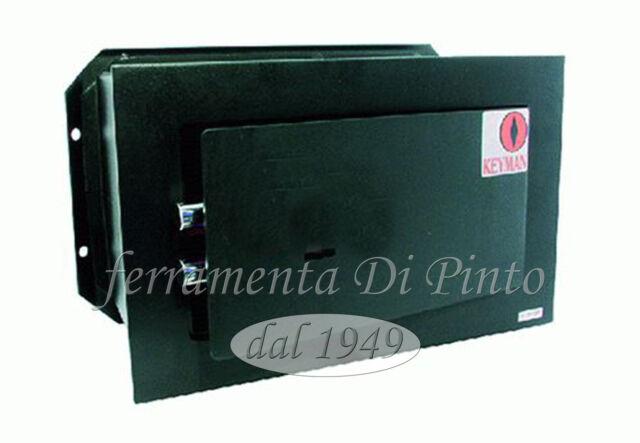 Caja Fuerte Empotrable Pared Llave Mecánica cm 21X31X15 23X36X20P 25X40X20P