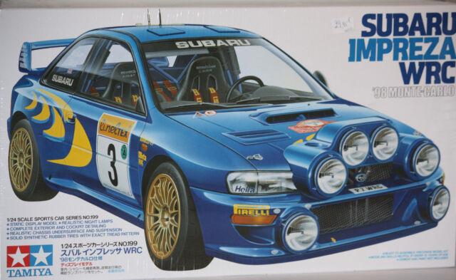 Tamiya Subaru Impreza 1998 Montar Carlo 1/24 24199