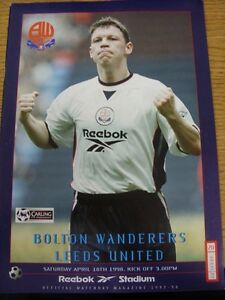 18041998 Bolton Wanderers v Leeds United  faint Crease - <span itemprop=availableAtOrFrom>Birmingham, United Kingdom</span> - Returns accepted within 30 days after the item is delivered, if goods not as described. Buyer assumes responibilty for return proof of postage and costs. Most purchases from business s - Birmingham, United Kingdom