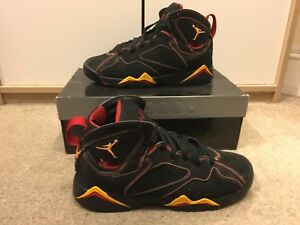 huge selection of a5a54 febbc Details about Nike Air Jordan 7 VII Retro Citrus - UK 6 / US 7Y