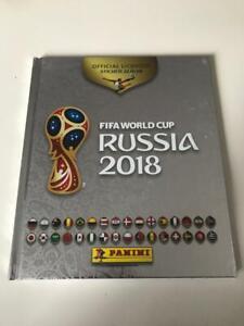 Panini Russia 2018 Hardcover Album Silber Silver Mexico Version MINT Mexiko Ed.