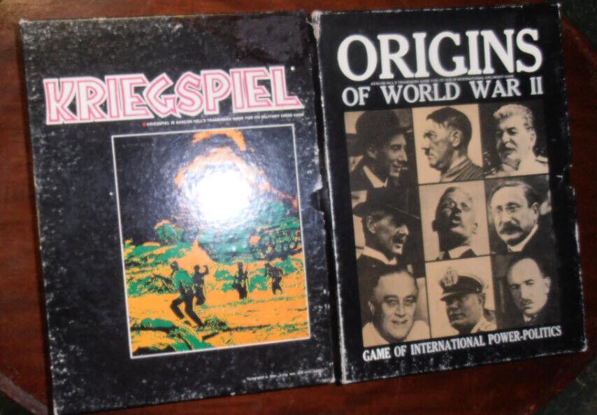 comprar ahora Avalon Hill orígenes de la segunda guerra mundial y Kriegspiel Kriegspiel Kriegspiel Librería Juegos  auténtico