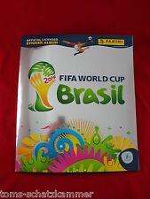 Panini WM 2014 Album Schweiz Platinum Edition = WM 14 Leeralbum Swiss Brasil