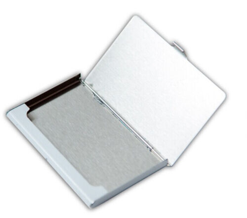 Metal Stainless Steel Pocket Business Name Credit ID Card Case Box Holder