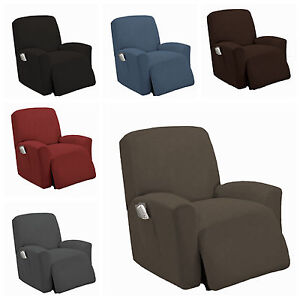 Amazing Details About Stretch Recliner Slipcover Couch Cover Sofa Cover Furniture Chair Slipcovers Caraccident5 Cool Chair Designs And Ideas Caraccident5Info