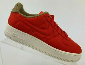 Nike-Women-s-Air-Force-1-039-07-LX-898889-600-Habanero-Red-Size-10-5-Premium-AF1