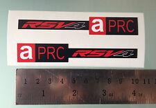 APRC RSV4 Stickers Decals for Aprilia RSV4 Front Fairing (NEW MODEL DESIGN)