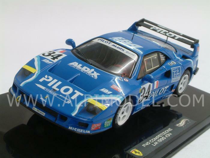 Ferrari Ferrari Ferrari F40 Le Mans 1995 Ferte - Thevenin - Palau 1 43 HOT WHEELS X5508 ea76a2