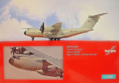 Herpa Wings 1:500 Airbus A400M French Air Force  527613-001 Modellairport500