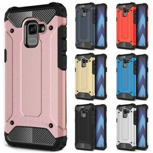 the best attitude ecb74 cd925 Details about For Samsung Galaxy A8 / A8 Plus (2018) Case Rugged Armor  Shockproof Phone Cover