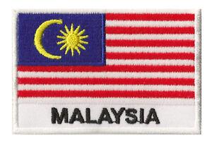Ecusson-patche-drapeau-patch-MALAISIE-Malaysia-70-x-45-mm-a-coudre-brode