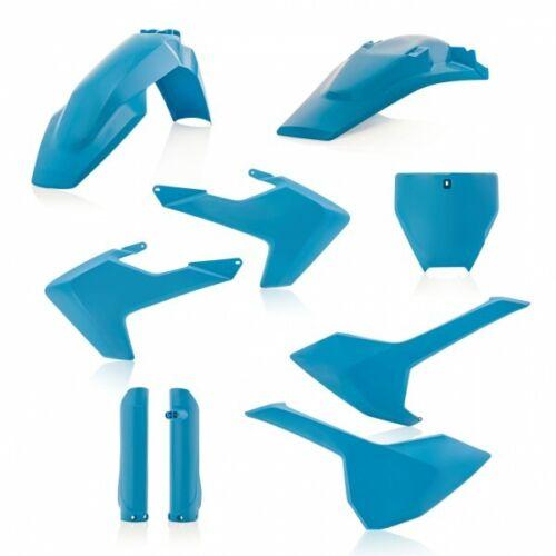 Acerbis plástico frase plastikkit Plastik Husqvarna TC FC 125 450 16-18 azul pálido