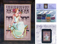 MIRABILIA Cross Stitch PATTERN and EMBELLISHMENT PACK Persephone MD127