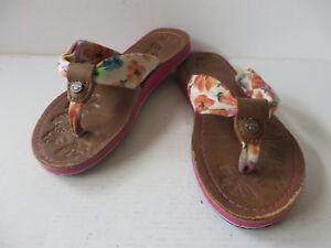 brand new a279e 8d177 Details zu TOM TAILOR ° schöne ZEHENTRENNER Gr. 31 bunt Mädchen Schuhe Flip  Pantoffel Flop