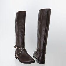 Women's Diane Von Furstenberg Regan Shose Brown Knee High Boots Size 11 M NEW!