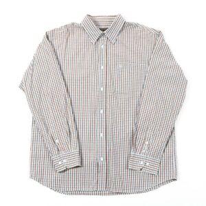 VGC-Vintage-WRANGLER-Plaid-Western-Shirt-Mens-2XL-Cowboy-Retro-Check