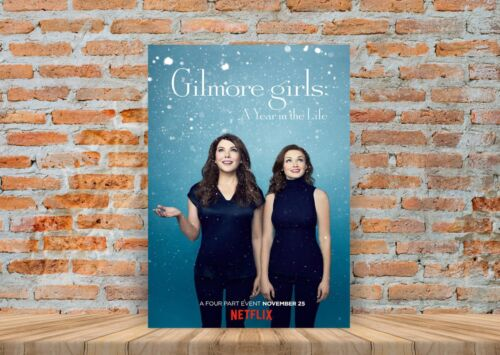Gilmore Girls TV Show Poster or Canvas Art Print A3 A4 Sizes