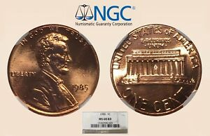 1985-1C-NGC-MS68-RD-Lincoln-Cent-Only-9-Higher-RicksCafeAmerican-com