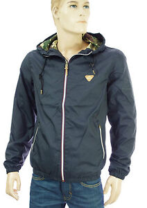 JACK-amp-JONES-by-VINTAGE-coupe-vent-nylon-bleu-navy-homme-JASPER-LIGHT-JACKET