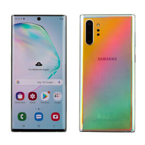 Samsung Galaxy Note 10 Plus 256 Go aura Glow Dual SIM Smartphone WOW