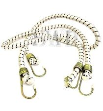 """48/"""" Heavy Duty Bungee Cord 2Pc Tie Down Luggage Secure Straps Trailer Car Van"""