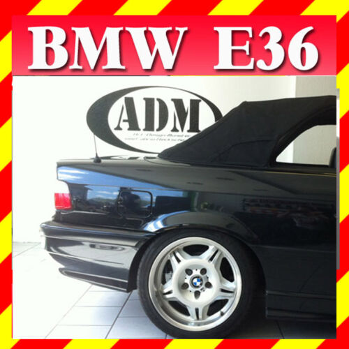 BMW E36 Convertible Top Roof Rear Window Cabriolet Cabrio green tint PVC Plastic