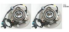 FRONT Wheel Hub Bearing Assembly Fit GMC Yukon XL 1500 (4WD 4X4) 2000-2006 PAIR
