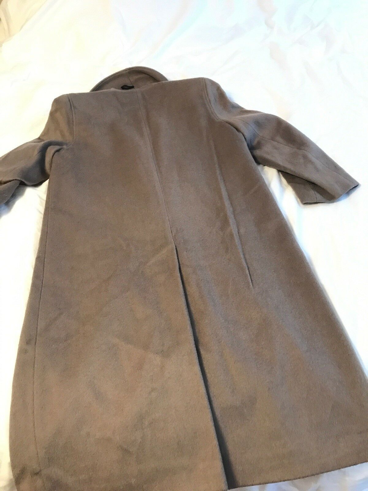 Alorna Double-Breasted Wool Wool Wool Nylon Blend Coat 991fa3