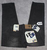 Raw Blue Jeans For Boys Size Size W16- W26 X L27. Tag No. K23