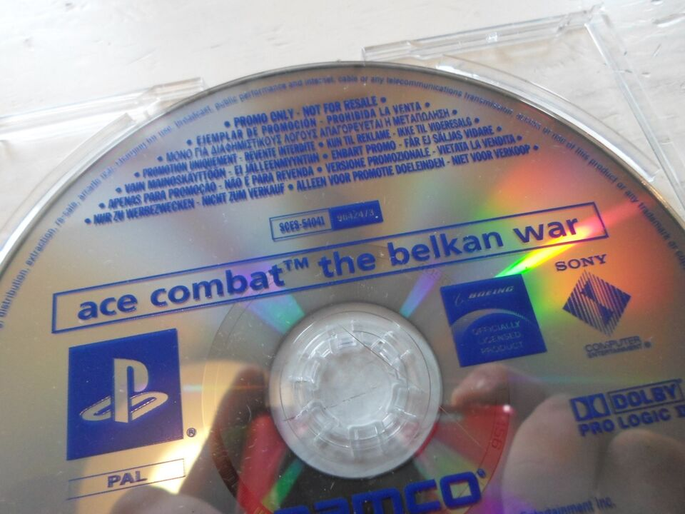 ace combat: the balkan war, PS2