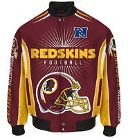 Washington Redskins Men's Nfl G-iii Burst Twill Jacket -size Medium Free Ship