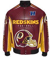 Washington Redskins Men's Nfl G-iii Burst Twill Jacket -size Large Free Ship
