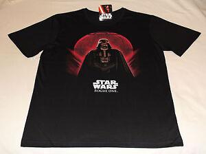 Star-Wars-Darth-Vader-Rogue-One-Mens-Printed-Short-Sleeve-T-Shirt-Size-XL-New