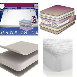 Baby Kids Cot Bed Sprung Quilted Nursery Mattress With Without Memory Foam Ebay