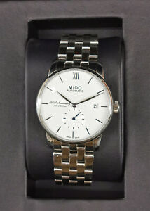8620007 Mido Automatic Baroncelli Watch 100th Anniversary Limited Edition