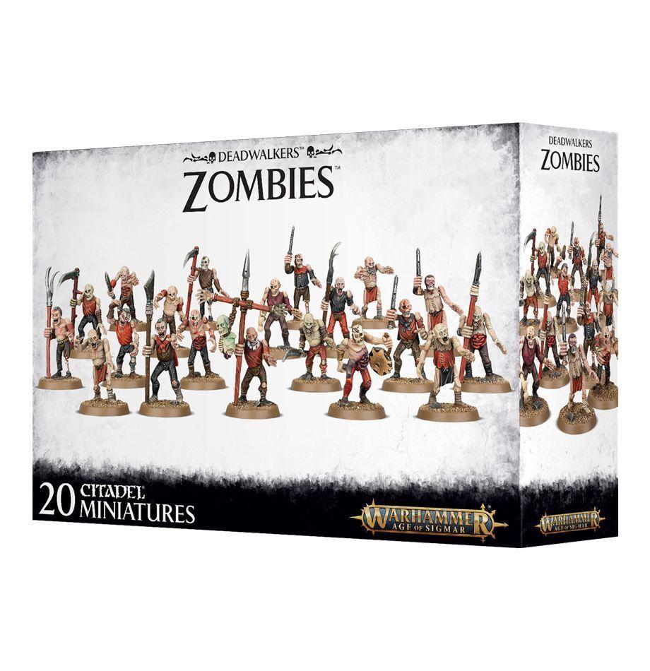 Deadwalker Zombies Games Workshop Warhammer Age of Sigmar Death Zombie
