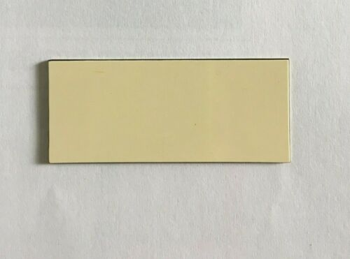 10 Hojas de plástico de color para el grabado con color mostrar a través de 70mm X 30mm
