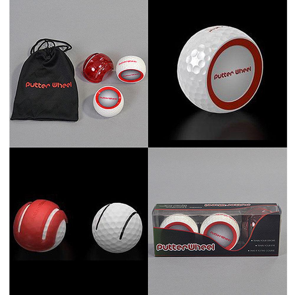 Putter Wheel Golf Trainer Putting Training Aid 2Pcs