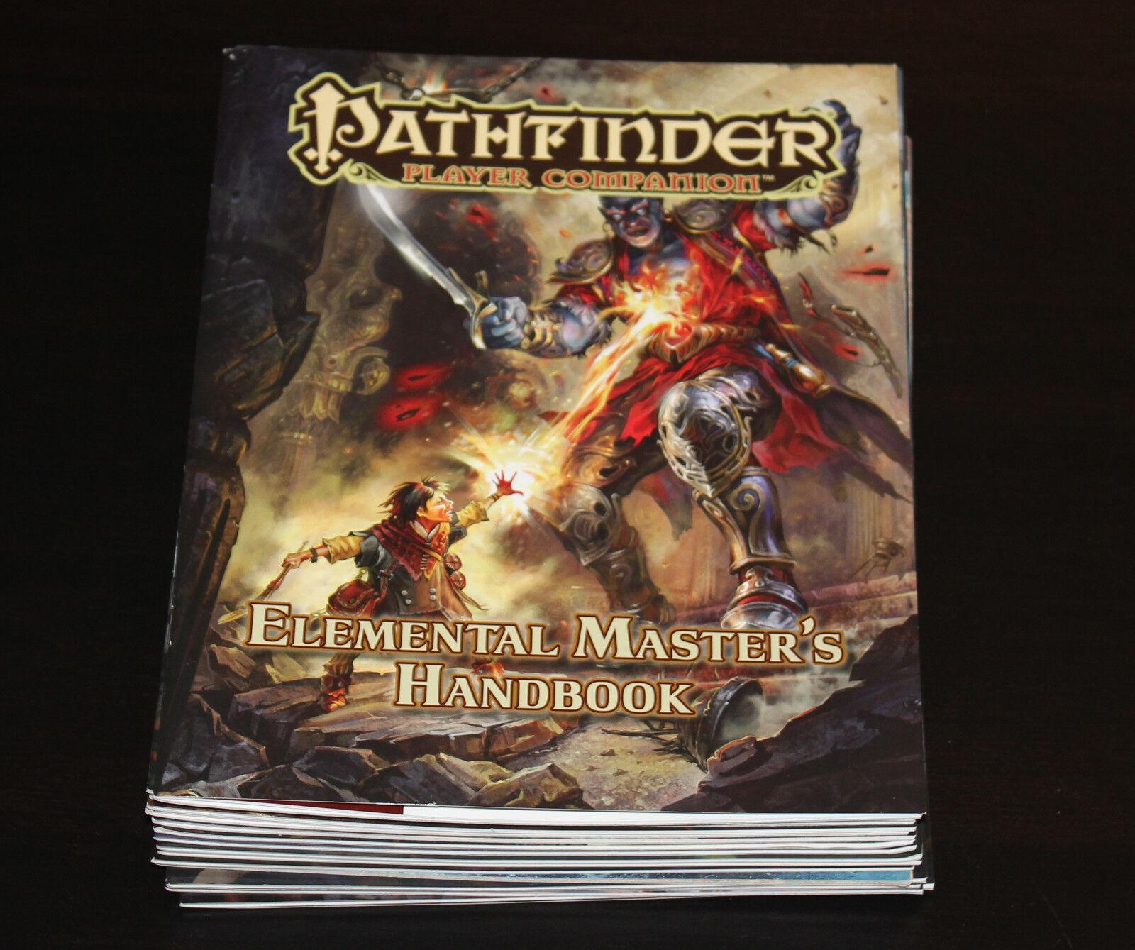 25 Pathfinder Player Companion Books