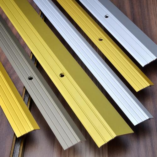 1m door strip interior-use threshold 100cm ALUMINIUM SLANTED BARS 0.9m 90cm