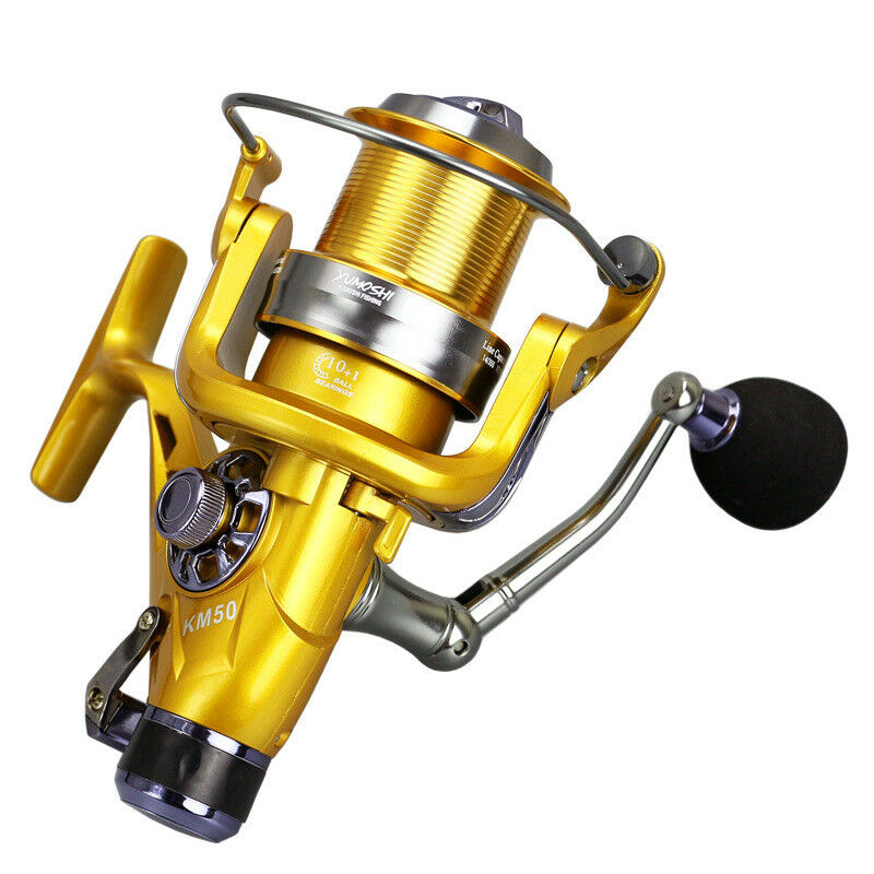 R L Double Unload Force Front Rear Brake Baitcaster Reels High Speed 5.2 1