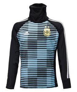 Adidas Men's Argentina AFA Messi Hoodie (Blue)   Soccer shop