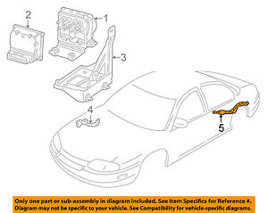 details about chevrolet gm oem abs anti lock brake system sensor wiring harness 12167117 Chevy Factory Radio Wiring Diagram