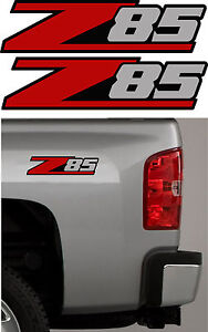 Image Is Loading 2 Z85 Chevy Decal Sticker Parts For Silverado